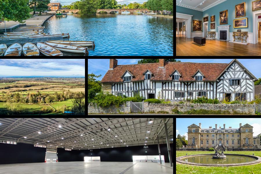 Film Warwickshire Image Collage